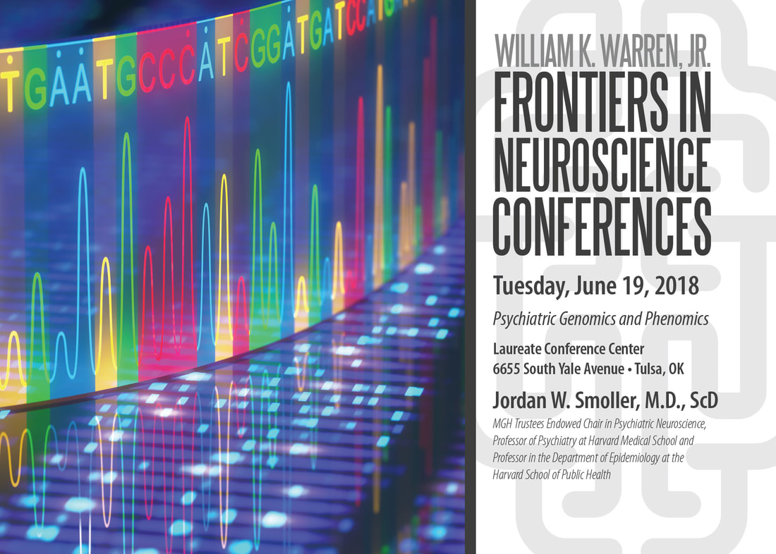 Wkw Frontiers In Neuroscience Lecture Jordan W Smoller June 19th 2018 Laureate Institute For Brain Research